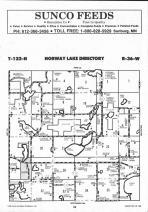 Norway Lake T122N-R36W, Kandiyohi County 1991